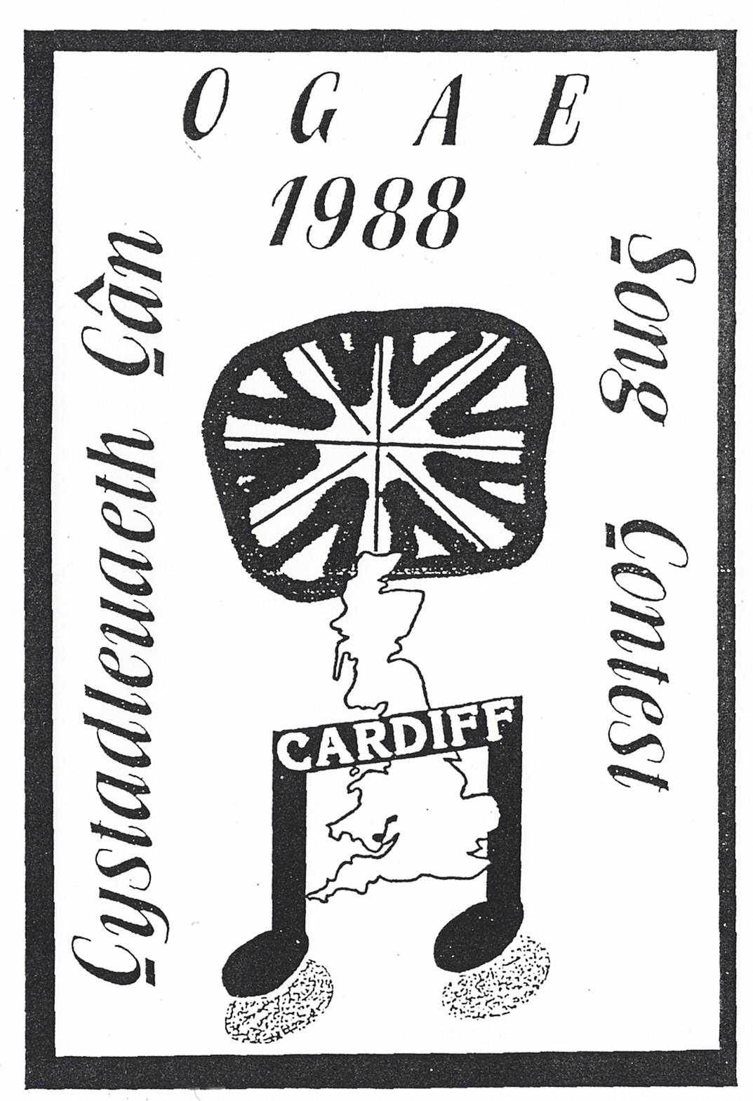 Ogae song contest 1988 eurovision club germany e v for 1988 club music